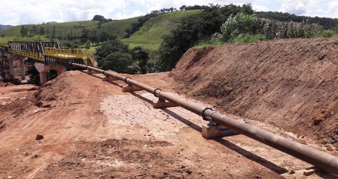 Fornecimento para mineradora brasileira