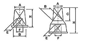 Desenho técnico cabeçote