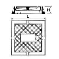 Dibujo técnico Tapón para registro