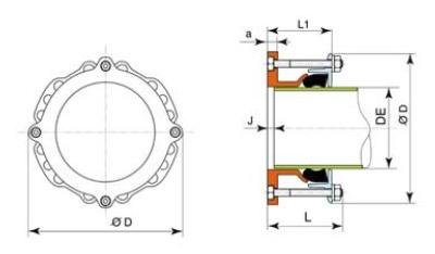 Desenho técnico Adaptador Ultraquick