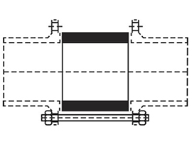 Desenho técnico Carretel com Tirantes