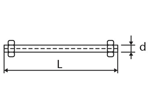 Desenho técnico Tirantes