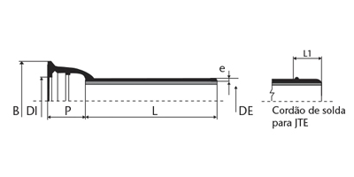 Desenho técnico Tubo