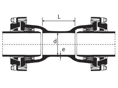 Desenho técnico Luva com Bolsas JTE