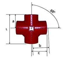 Desenho técnico Cruzeta de 88