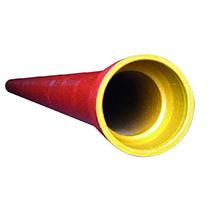 Foto tubo ponta e bolsa
